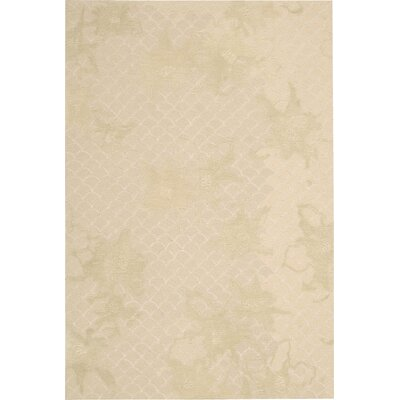 Stalbridge Hand-Tufted Sand Area Rug Rug Size: 39 x 59