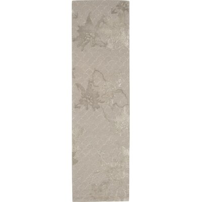 Stalbridge Hand-Tufted Silver Area Rug Rug Size: Runner 23 x 8