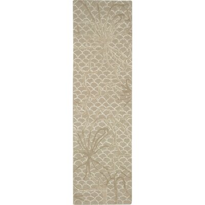Stalbridge Hand-Tufted Latte Area Rug Rug Size: Runner 23 x 8