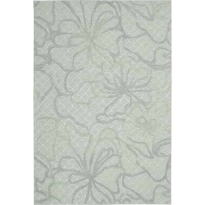 Stalbridge Hand-Tufted Seafoam Area Rug Rug Size: 5' x 7'6