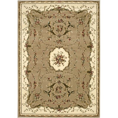 Sherley Cream Area Rug Rug Size: Rectangle 53 x 74