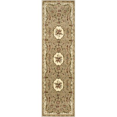 Easton Cream Area Rug Rug Size: Runner 22 x 76