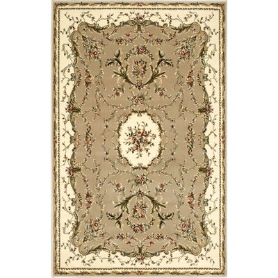 Sherley Cream Area Rug Rug Size: Rectangle 710 x 1010