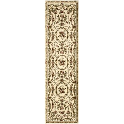 Sherley Ivory Area Rug Rug Size: Runner 22 x 76