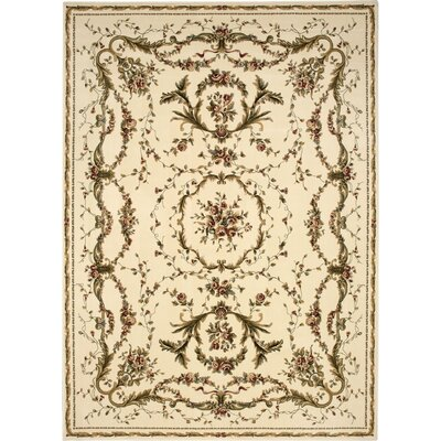 Easton Ivory Area Rug Rug Size: 710 x 1010