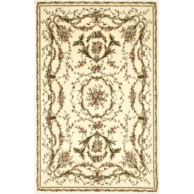 Easton Ivory Area Rug Rug Size: 39 x 59