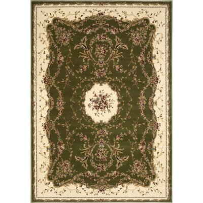 Sherley Sage Area Rug Rug Size: Rectangle 53 x 74