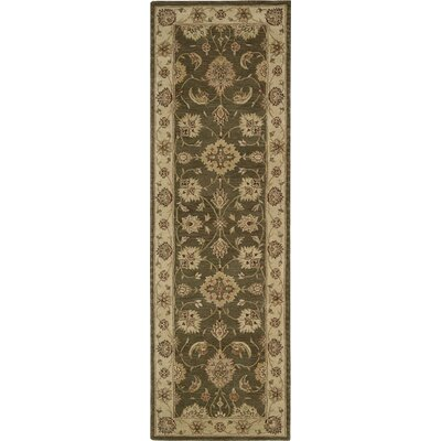 Gustavson Handmade Brown Area Rug