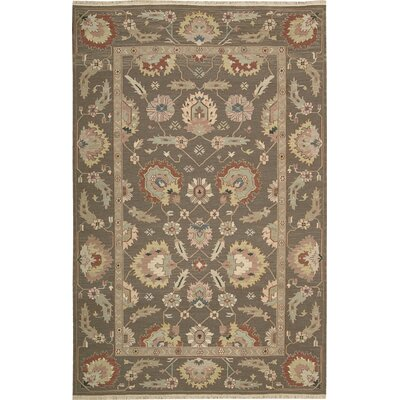 Cullen Hand-Woven Mocha Area Rug Rug Size: Rectangle 12 x 18