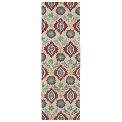 Aksel Hand-Tufted Multi Area Rug Rug Size: Runner 26 x 8