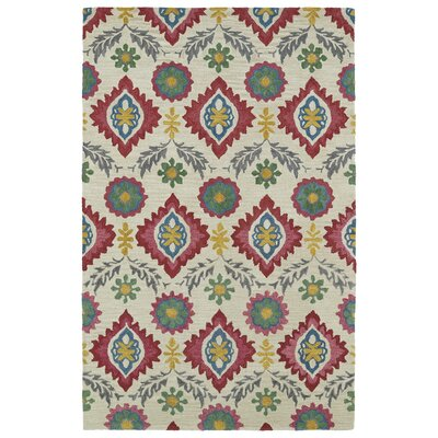Aksel Hand-Tufted Multi Area Rug Rug Size: 8 x 10