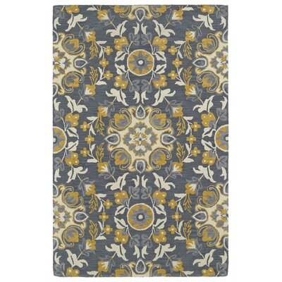 Tunstall Hand-Tufted Wool Gray Area Rug Rug Size: Rectangle 8 x 10