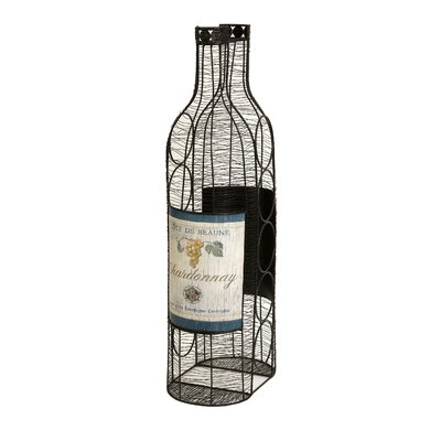 Drouin 5 Bottle Tabletop Wine Rack