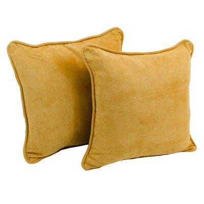 Dangerfield Outdoor Throw Pillow Color: Lemon