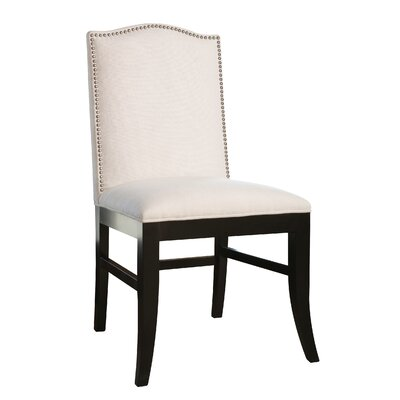Liston Side Chair Upholstery Ivory Linen