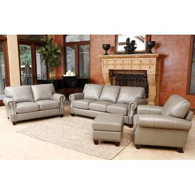 Carthage Leather Configurable Living Room Set