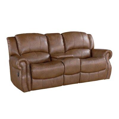 Baynes Leather Reclining Sofa