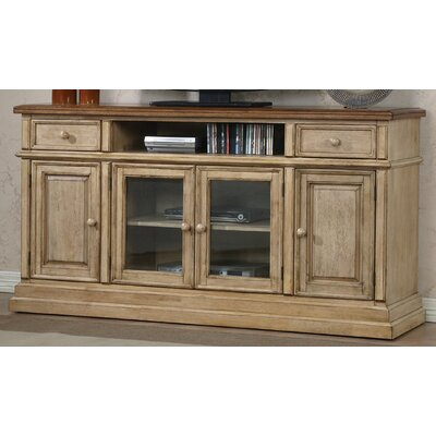 Ivesdale 65 TV Stand Color: Almond / Wheat