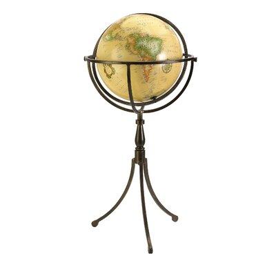 Globe on Iron Stand