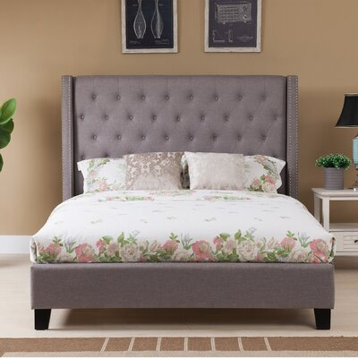 Brouillard Upholstered Panel Bed Size: King