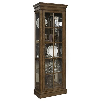 Hosking Lighted Curio Cabinet