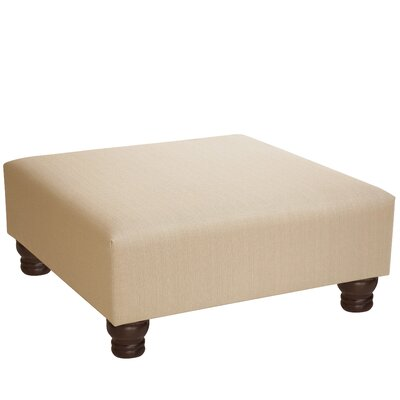 Langlinais Cocktail Ottoman Upholstery: Ricepaper