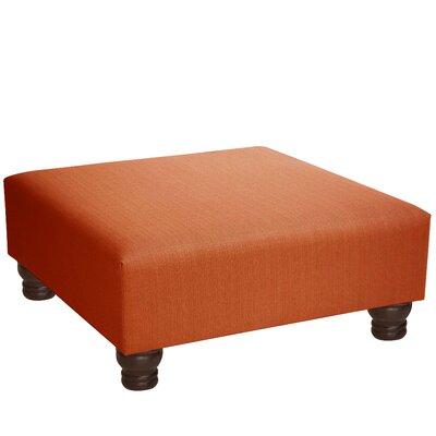 Langlinais Cocktail Ottoman Upholstery: Saffron