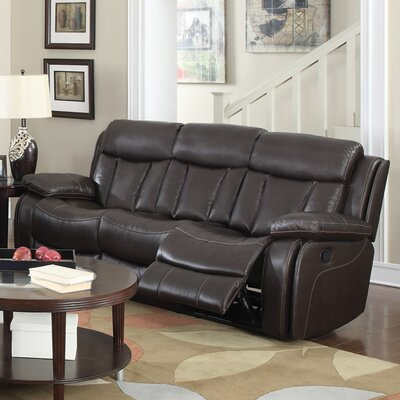 Darmstadt Leather Reclining Sofa