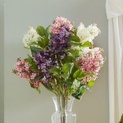 Glenham Lilac Silk Flower Arrangement