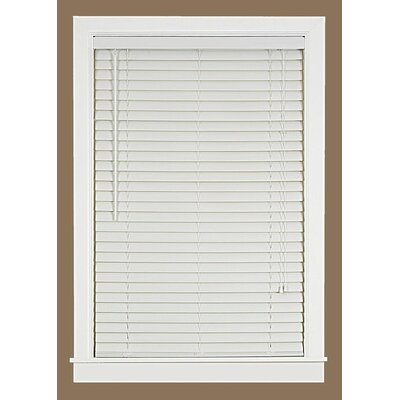Venetian Blind Color: White, Size: 35.5 W x 64 L