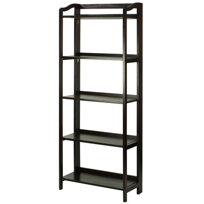 Troy 60.25 Etagere Bookcase Finish: Espresso