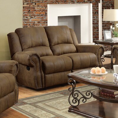 Darby Home Co DBHC5346 27433103 Hilliker Reclining Loveseat