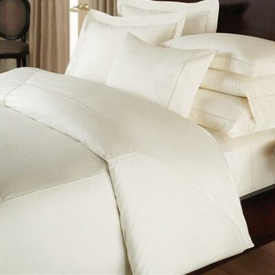 Ertel Cotton Sateen Duvet Cover Size: King, Color: White