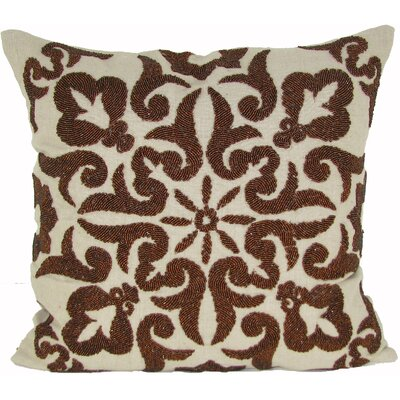 Trembley Linen Throw Pillow Color: Copper