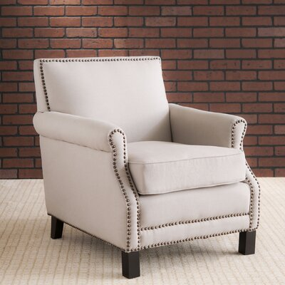 Duggins Armchair Upholstery: Taupe