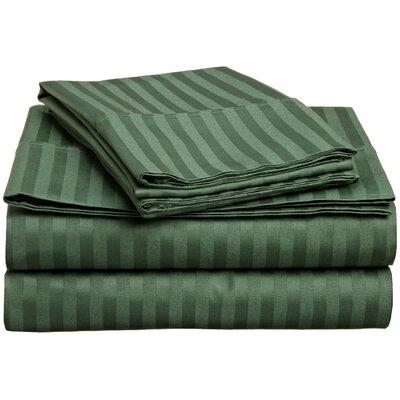 Superior 300 Thread Count 100% Premium Cotton Sheet Set Color: Hunter Green