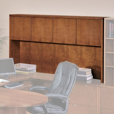Lemasters 42 H x 72 W Desk Hutch Finish: Light Cherry