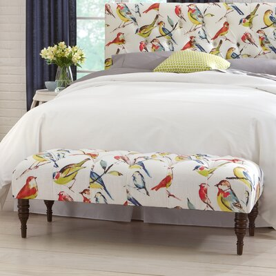 Selma Tufted Birdwatcher Bedroom Bench