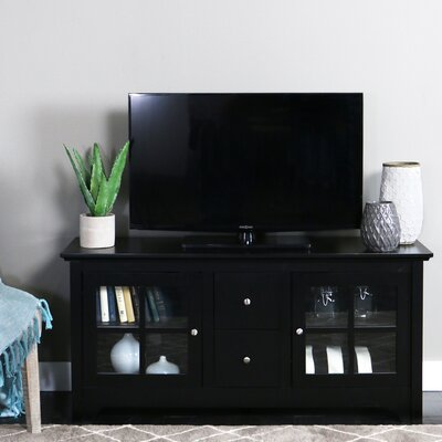 Poulson TV Stand Finish: Black