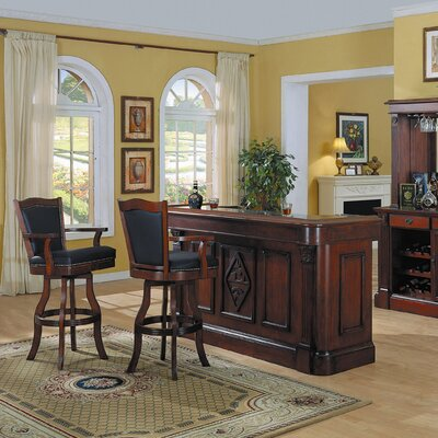Selvidge Bar Set with Wine Storage