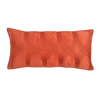 Gebhardt Lumbar Pillow Color: Orange