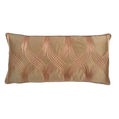 Gebhardt Lumbar Pillow Color: Toffee