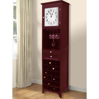 Obannon 24 Bottle Floor Wine Cabinet