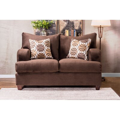 DBHC5639 27474245 DBHC5639 Darby Home Co Bonaparte Modern Loveseat