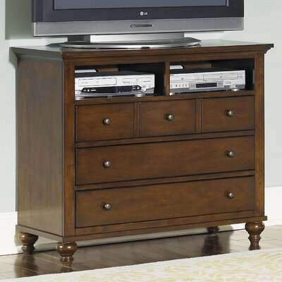 Garrick 5 Drawer Media Chest