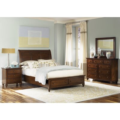 Garrick Platform Customizable Bedroom Set