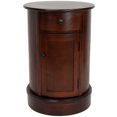 Gaylord 1 Drawer Nightstand Finish: Cherry