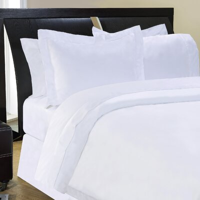 Shaeffer 3 Piece Reversible Duvet Cover Set Size: Queen, Color: Ivory