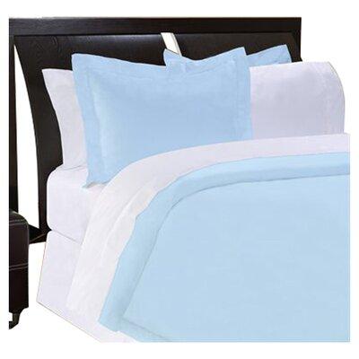 Shaeffer 3 Piece Reversible Duvet Cover Set Size: Queen, Color: Blue