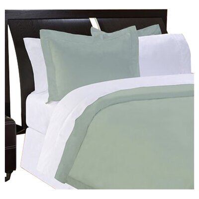 Shaeffer 3 Piece Reversible Duvet Cover Set Size: King, Color: Sage